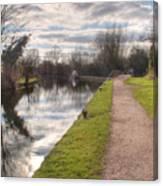 Grand Union Canal Rickmansworth Canvas Print