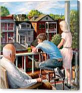 Grandpa's Back Porch Canvas Print