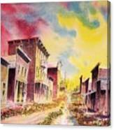 Granite Ghost Town Montana Canvas Print