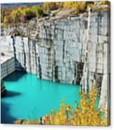 Granite Quarry Canvas Print