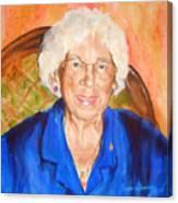 Granny Canvas Print