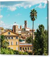 Grasse In Cote D'azur, France  Canvas Print