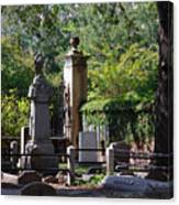 Graveyard In Charleston Canvas Print