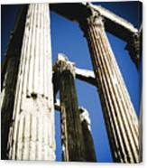 Greek Pillars Canvas Print