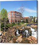 Greenville Panorama Canvas Print