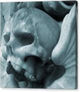 Grey Death Canvas Print