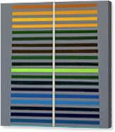 Grey Space Canvas Print