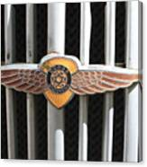 Grill Badge Canvas Print