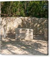 Groupo Mecanxoc At The Coba Ruins  Canvas Print