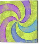 Grunge Swirl Canvas Print