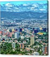 Guatemala City - Guatemala I Canvas Print