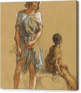 Guillaumet Gustave Achille Canvas Print
