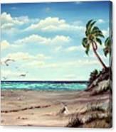 Gulf Dunes Canvas Print