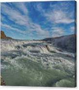 Gulfoss. Canvas Print