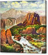 Gully Washer Canvas Print