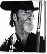 Gun Totting Tombstone Slim Helldorado Days Tombstone Arizona 1968 Canvas Print