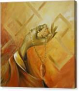 Gyan Mudra Canvas Print