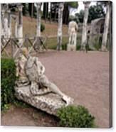 Hadrians Villa Canvas Print