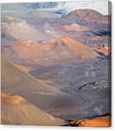 Haleakala Crater Canvas Print