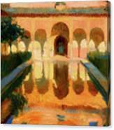 Hall Of The Ambassadors -  Alhambra Granada Canvas Print