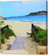 Hamelin Bay Canvas Print