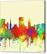 Hamilton Ont. Skyline Canvas Print