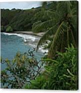 Hamoa Beach Maui Hawaii Canvas Print