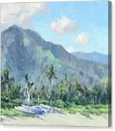 Hanalei Cats Canvas Print