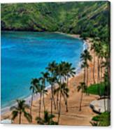 Hanauma Bay Canvas Print