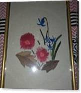Hand Embroidery Canvas Print