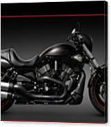 Harley Davidson Vrscd Night Rod Special Canvas Print