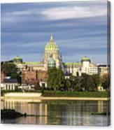 Harrisburg Skyline Canvas Print