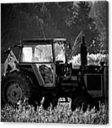 Harvesting The Fields Canvas Print