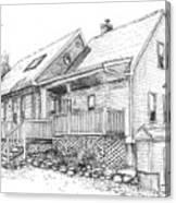 Harvey Lake House Canvas Print