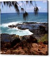 Hawaiian Snapshot Canvas Print