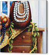 Hawaiian Still Life Panel Canvas Print