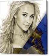 Hayden Panettiere Collection Canvas Print
