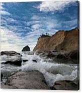 Haystack Rock At Cape Kiwanda Canvas Print