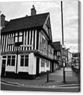 heath mill lane and the old crown pub Birmingham UK Canvas Print