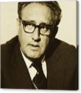 Henry Kissinger 1976 Canvas Print