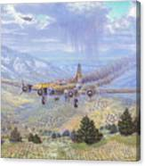 Her Majestys Last Landing Canvas Print