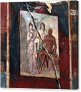 Herculaneum Fresco Canvas Print