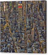 High Over Manhattan Canvas Print