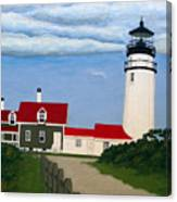 Highland  Lighthouse Canvas Print