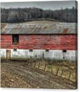 Hill Barn Canvas Print