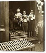 Hine: Child Labor, 1908 Canvas Print