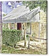 Limestone Cottage Canvas Print