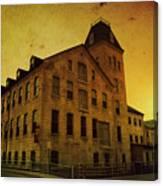 Historic Fox River Mills Canvas Print