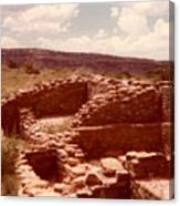 Historic Indian Ruins  Canvas Print