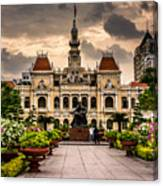 Ho Chi Minh City Hall Canvas Print